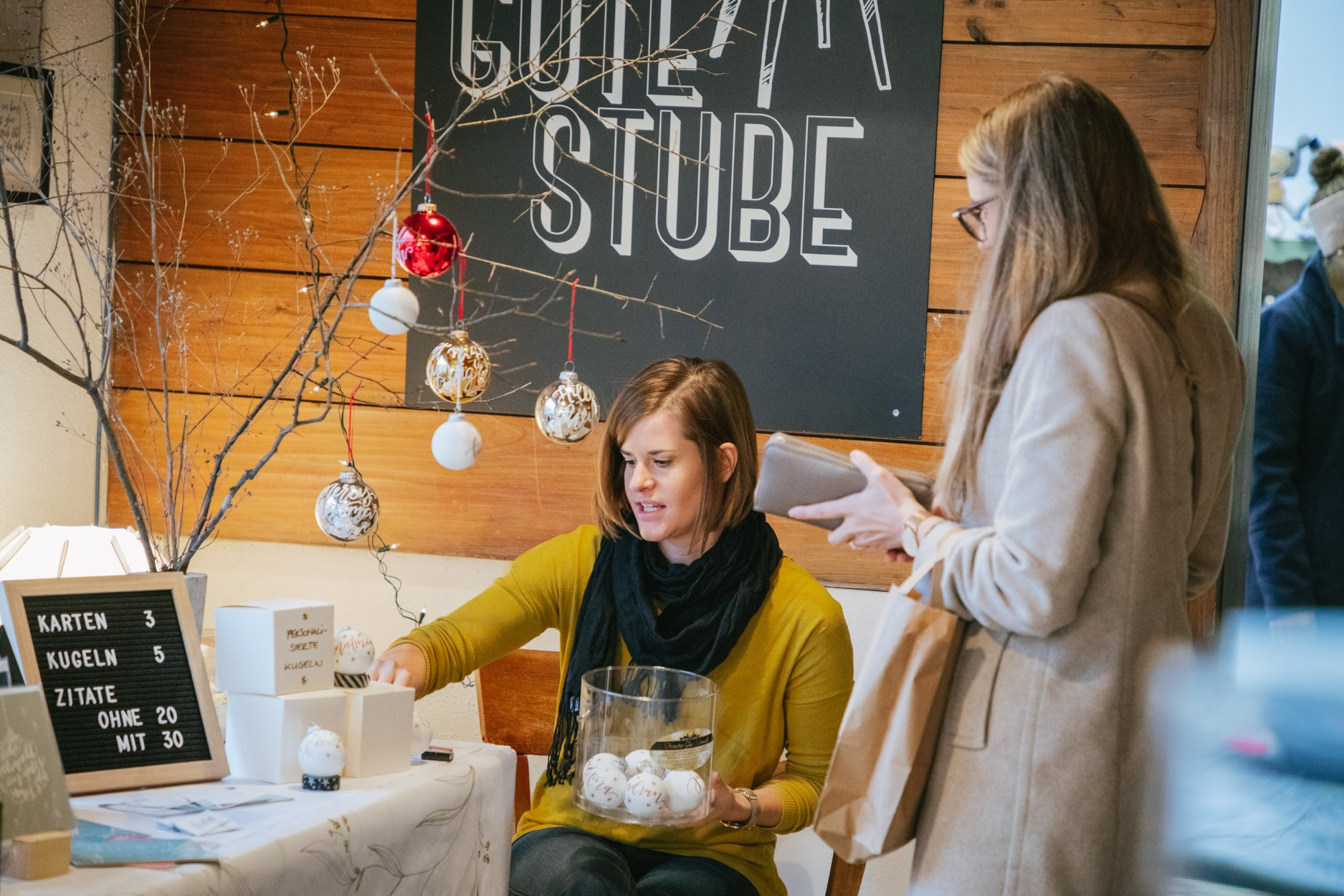 Finest Designmarkt in der Guten Stube Andelsbuch. Foto von Tobias Gayer.