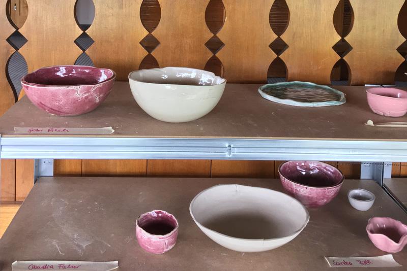Modularer Keramik Workshop in der Guten Stube Andelsbuch mit Alexandra Kremmel.